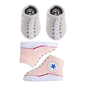 Baby Converse 2-pack Chuck Sock Booties