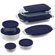 Pyrex Cooking Solved 14-pc. Glass Bake N' Store Set