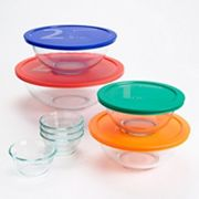 Pyrex Cooking Solved 12-pc. Glass Mixing Bowl Set