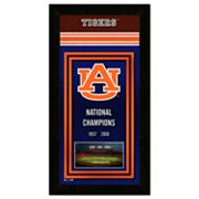 Auburn Tigers Framed National Champions Wall Art