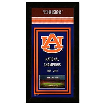 Auburn Tigers Framed National Champions Wall Art