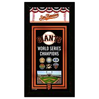 San Francisco Giants World Series Champions Wall Art