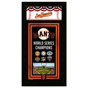 San Francisco Giants World Series Champions Wall Art