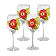 Laurie Gates Kate 4-pc. Goblet Set