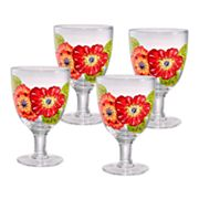 Laurie Gates Kate 4-pc. Ice Beverage Glass Set