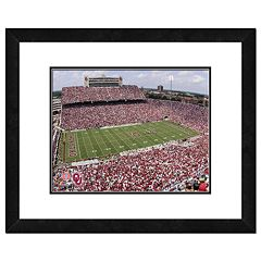 Oklahoma Sooners Gaylord Family Memorial Stadium Framed Wall Art