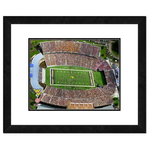 West Virginia Mountaineers Milan Puskar Stadium Framed Wall Art