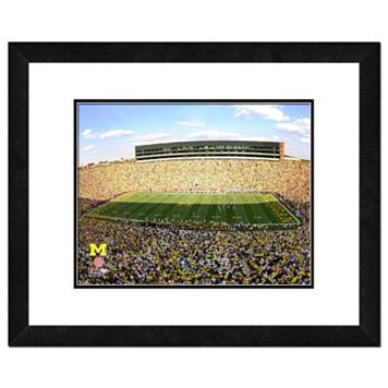 Michigan Wolverines Michigan Stadium Framed Wall Art