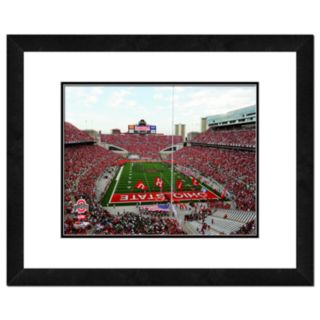 Ohio State Buckeyes Ohio Stadium Framed Wall Art
