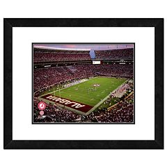 Alabama Crimson Tide Bryant Denny Stadium Framed Wall Art
