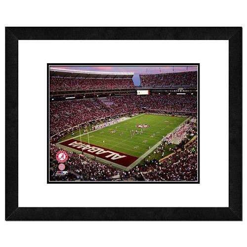 Alabama Crimson Tide Bryant Denny Stadium Framed Wall Art