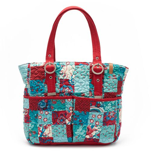 9bdaf6a91 Donna Sharp Elaina Quilted Patchwork Tote