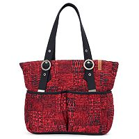 Donna Sharp Elaina Quilted Patchwork Tote