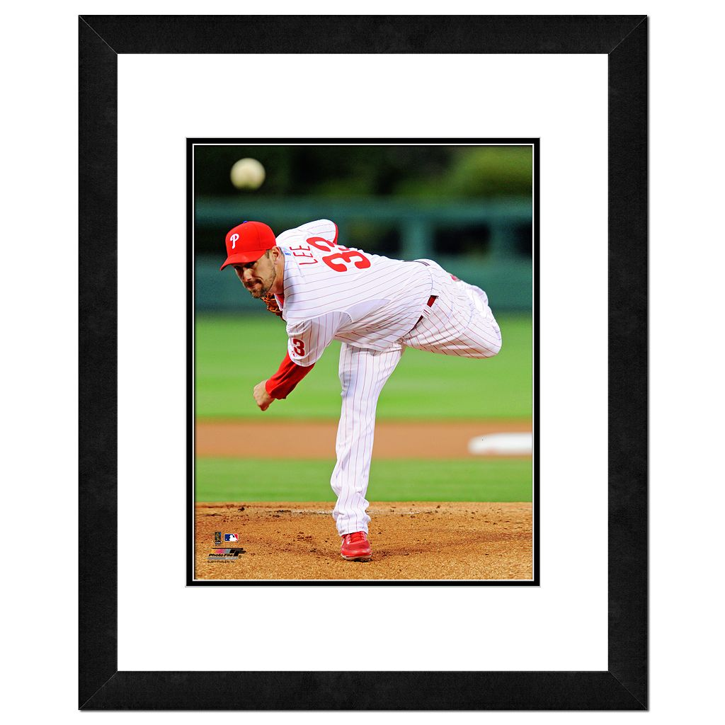 Cliff Lee Framed Player Photo
