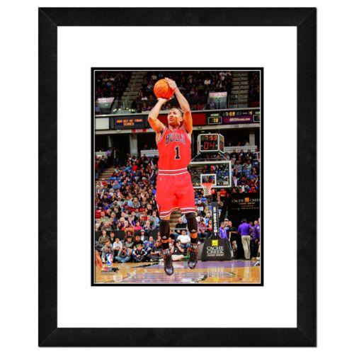 Derrick Rose Framed Player Photo