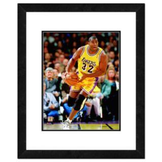Magic Johnson Framed Player Photo