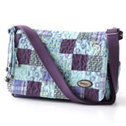 Donna Sharp Suzie Quilted Patchwork Messenger Bag