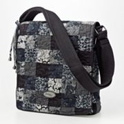 Donna Sharp Quilted Patchwork Messenger Bag