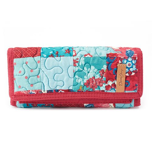 Donna Sharp Quilted Patchwork Wallet