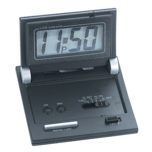 Folding Digital Travel Alarm Clock