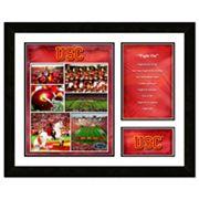USC Trojans Milestones & Memories Fight Song Framed Wall Art