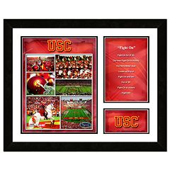 USC Trojans Milestones & Memories Fight Song Framed Wall Art