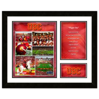 USC Trojans Milestones and Memories Fight Song Framed Wall Art