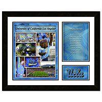 UCLA Bruins Milestones & Memories Fight Song Framed Wall Art