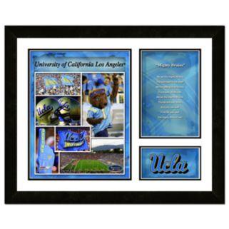 UCLA Bruins Milestones and Memories Fight Song Framed Wall Art