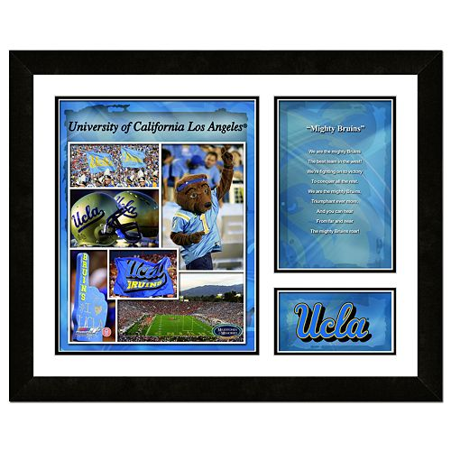 UCLA Bruins Milestones & Memories Fight Song Framed Wall Art