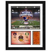 Auburn Tigers 2011 National Champions Turf Wall Art