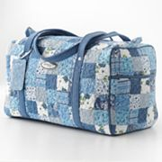 Donna Sharp Quilted Travel Duffel Bag