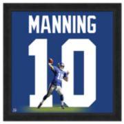 Eli Manning Framed Jersey Photo Wall Art