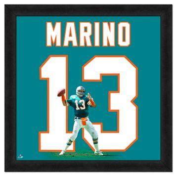 Dan Marino Framed Jersey Photo Wall Art