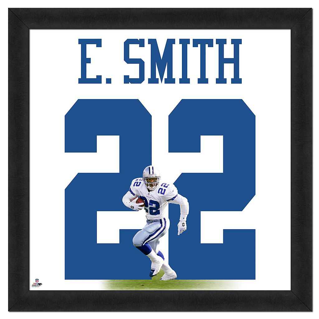 Emmitt Smith Framed Jersey Photo Wall Art