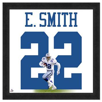 Emmitt Smith Framed Jersey Photo Wall Art