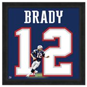 Tom Brady Framed Jersey Photo Wall Art