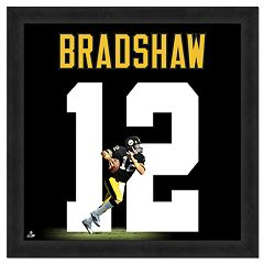 Terry Bradshaw Framed Jersey Photo Wall Art