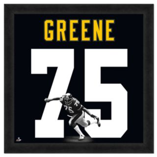 Joe Greene Framed Jersey Photo Wall Art