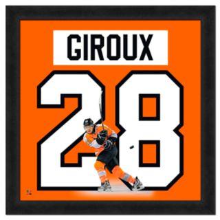 Claude Giroux Framed Jersey Photo Wall Art