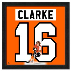 Bobby Clarke Framed Jersey Photo Wall Art
