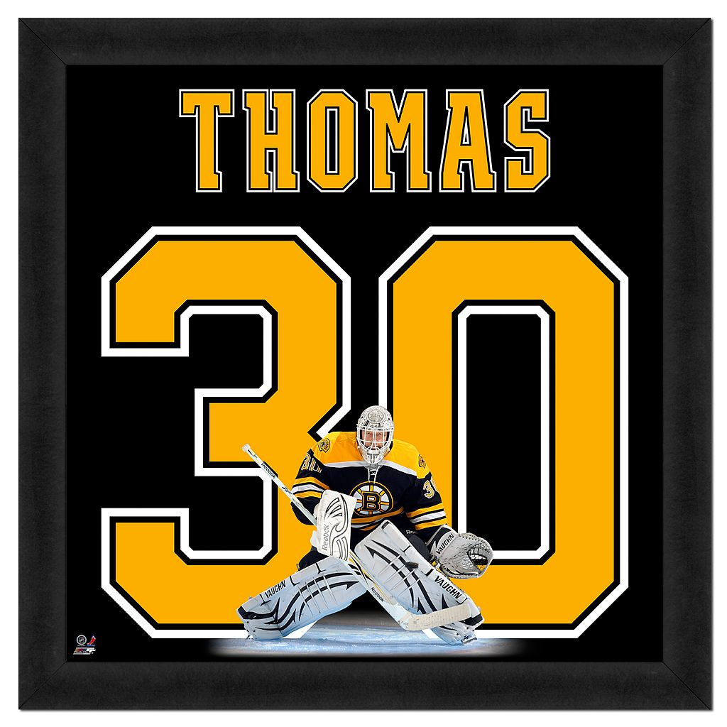 Tim Thomas Framed Jersey Photo Wall Art