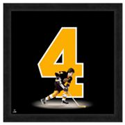 Bobby Orr Framed Jersey Photo Wall Art
