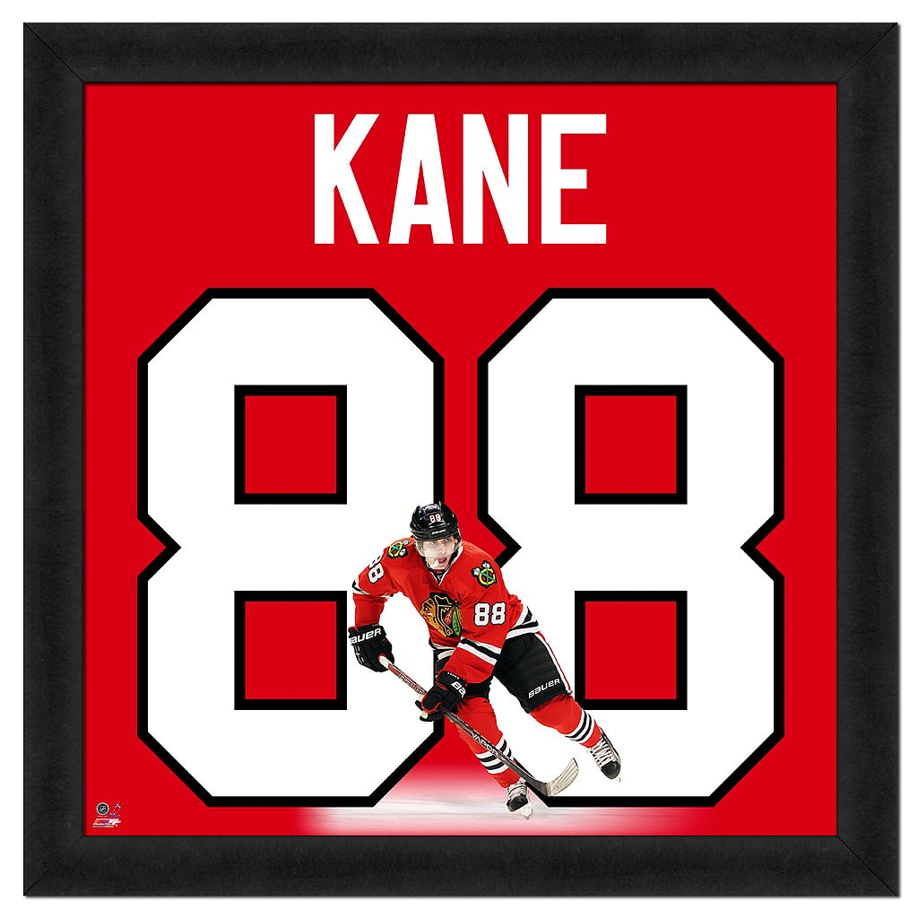 Patrick Kane Framed Jersey Photo Wall Art