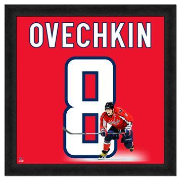 Alex Ovechkin Framed Jersey Photo Wall Art