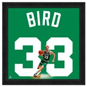 Larry Bird Framed Jersey Photo