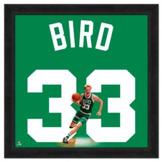 Larry Bird Framed Jersey Photo