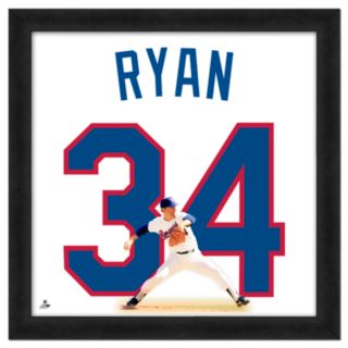 Nolan Ryan Framed Jersey Photo