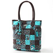 Donna Sharp Tammy Quilted Patchwork Tote