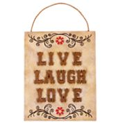 SONOMA outdoors Live Laugh Love Wall Decor